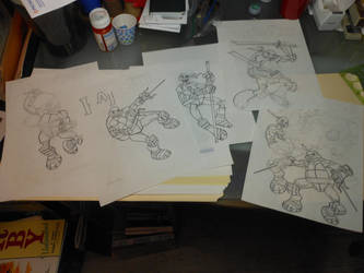 WIP: TMNT Grouping by EJJS