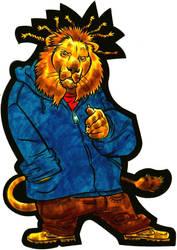 Hip Hop Lion by EJJS