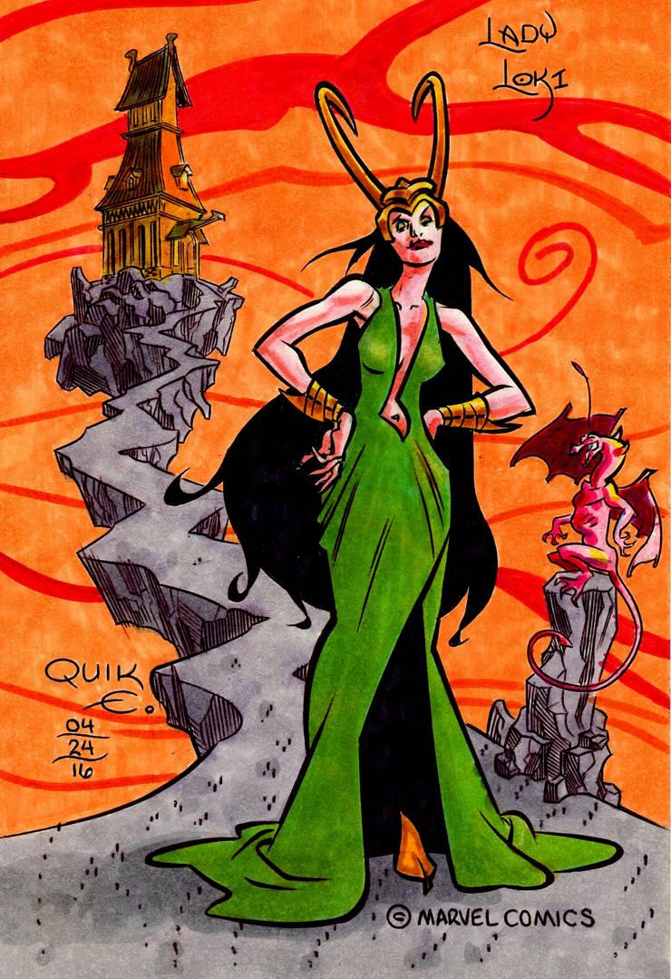Lady Loki by EJJS
