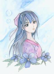 Japanese Girl by Earth9uake