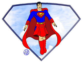 Superman Kilted by Timebear