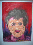 Creative Self-Portait for Painting II by Winter-Colorful