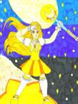 Maiden Yamabukiiro for Magical-Mama by Winter-Colorful