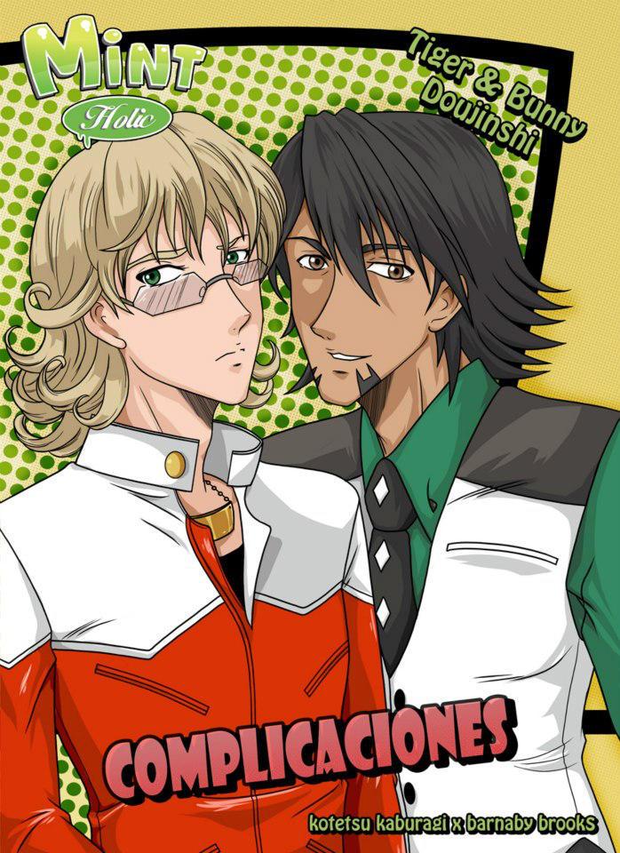 COVER Doujin Tiger And Bunny - Complicaciones by Limiko