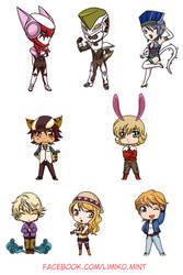 Chibi Tiger and Bunny by Limiko