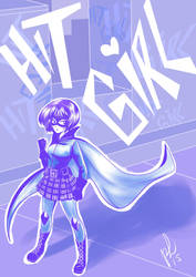Kickass HitGirl by Limiko