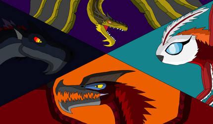 G: WARS - The Big Four by IndoraptorKnight220