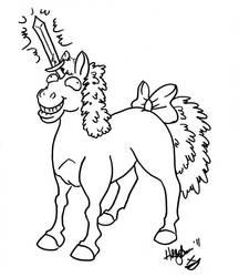 Not a Unicorn by hollyann