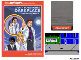 Darkplace for Intellivision. by Atariboy2600