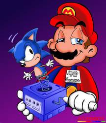 Mario The Renaissance Man by Atariboy2600