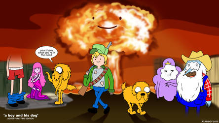 Finn And Jake - A Boy And His Dog. by Atariboy2600