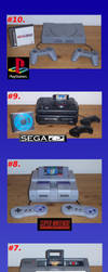 The Top Ten Fave Gaming Systems. by Atariboy2600