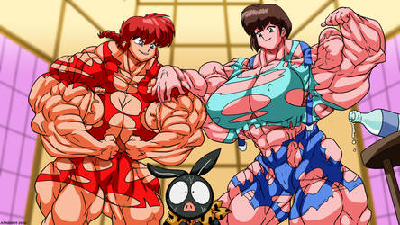 Female Muscle Hulk. by Atariboy2600