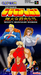 Tetsuko Mighty Muscular Woman by Atariboy2600