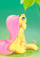 Fluttershy Leaf by Rodrigues404