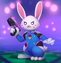 Dva Bunny by Rodrigues404