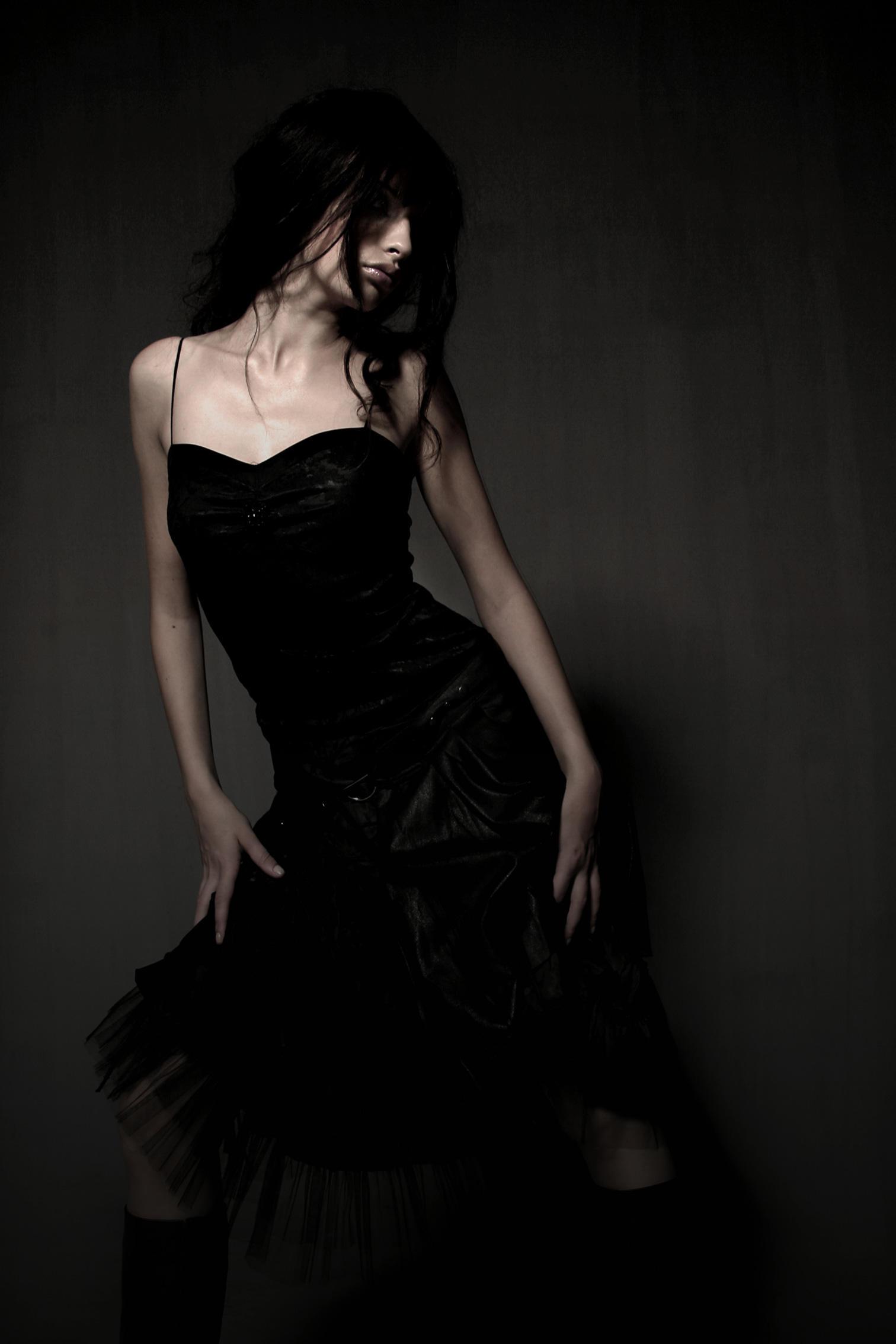 black in plastic by loveisaplasticshield