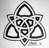 Celtic Triquetra Tattoo by TickleMeHoHo