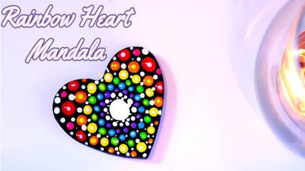 Rainbow Heart  Mandala Tutorial by SophieXSmith