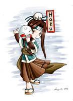 Chibi Haku by eikomakimachi