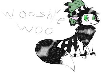 Wooshiewoo fanart by FeliciaWolfOfMounten