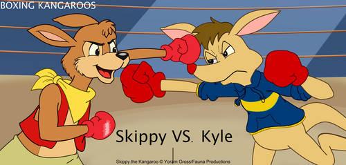 Kangaroo Fight SVK by AustraliaArt