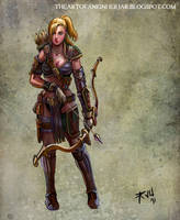 Archer by einhajar