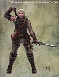 Rogue Elf by einhajar