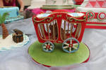 Circus wagon with Lion by The-Fairy-Cakery