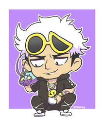 Guzma and Wimpod by sssonny