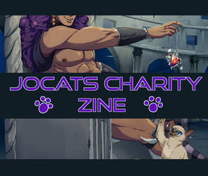 Jocats Charity zine Preorders open! by dratinigirl