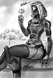 Tali Sigh by johnjoseco