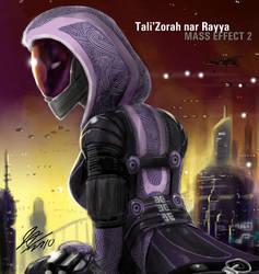 Tali'Zorah nar Rayya by johnjoseco