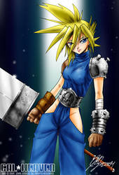 What if Cloud was FEMALE by johnjoseco