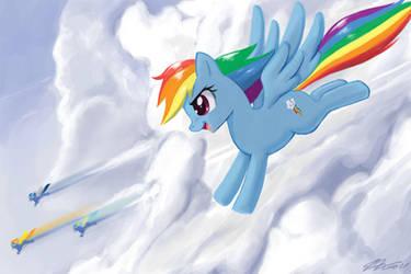 Rainbow Dash by johnjoseco