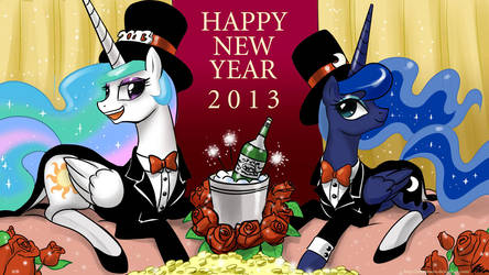Happy New Year 2013 by johnjoseco