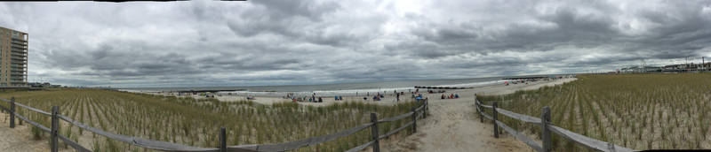 Cloudy day in Ocean City, NJ by joe40287