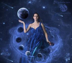 The Zodiac Serie - Aquarius by Melanienemo