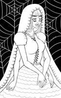 Widow by JeanLouiseArt