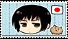 Japan, Stamp by HarukotheHedgehog