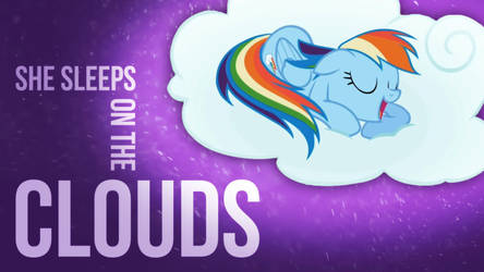 She likes clouds Wallpaper 2 by DabuXian