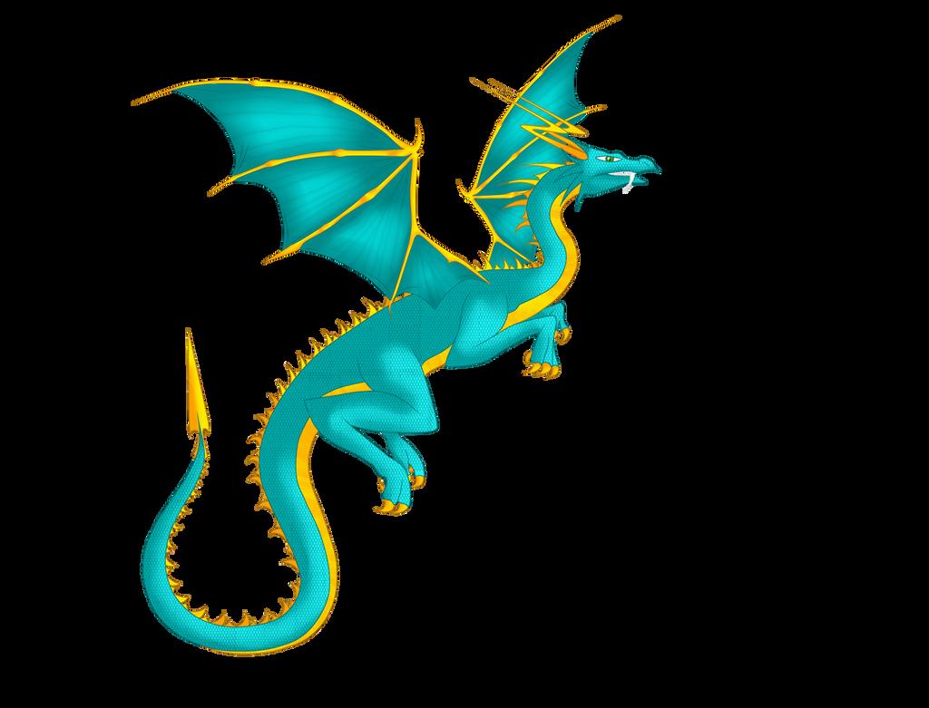 DragoniX Ashly Dragon Form by AshlyStorm