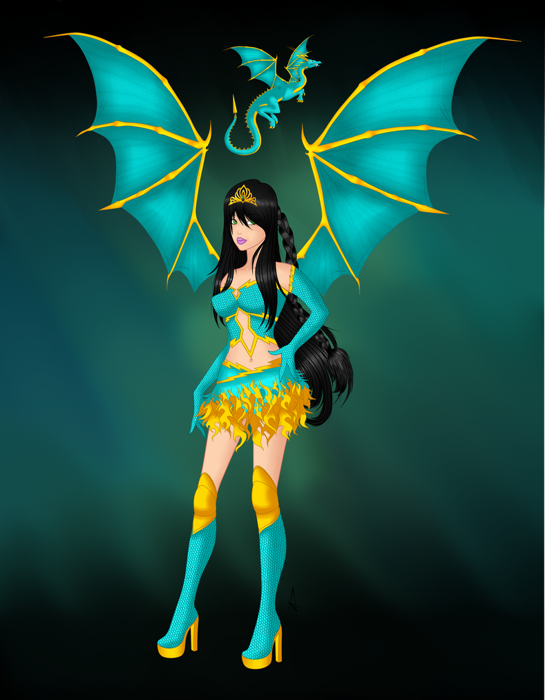 Ashly DragoniX by AshlyStorm