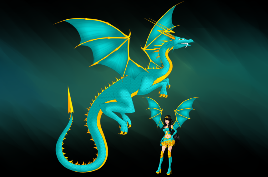 DragoniX by AshlyStorm