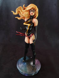 Ms. Marvel Bowen statue custom by Enelaur