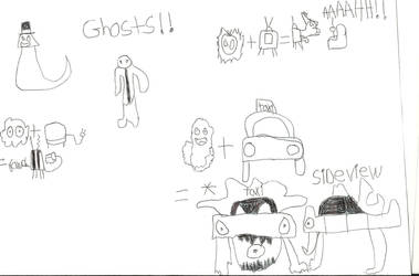 Ghosts!! by masterman666