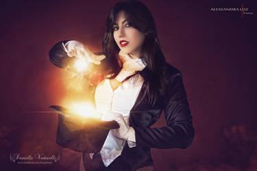 Be astounded! ~ Zatanna Zatara Cosplay by daniellevedo