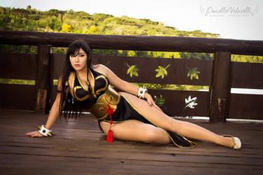 Chun Li - Battle Costume | Street Fighter V (SFV) by daniellevedo