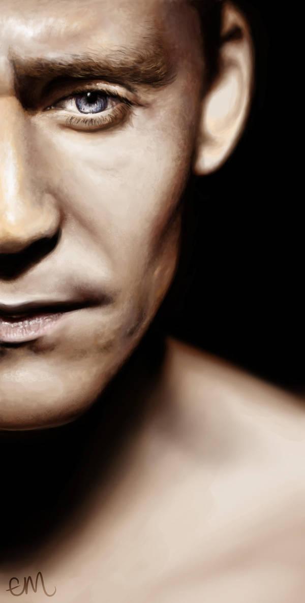 Tom Hiddleston by Elluwah