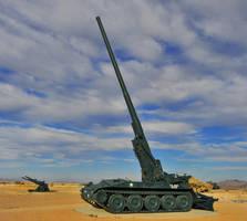 M107 175mm Self-propelled Artillery by flatsix911